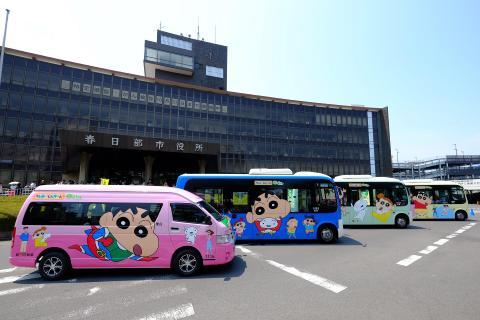春日部ラッピングバス