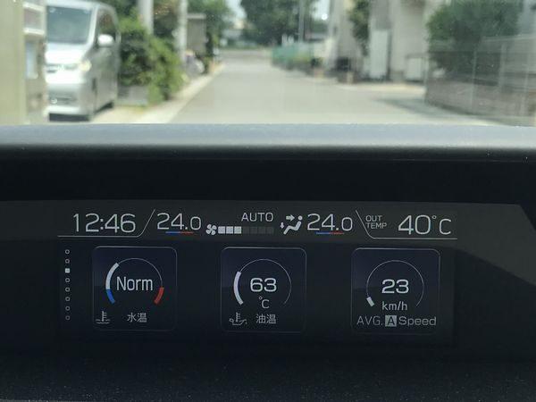 2019・猛暑車内