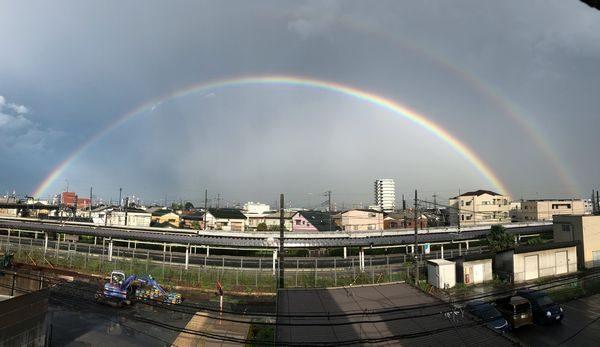 2019・8虹①