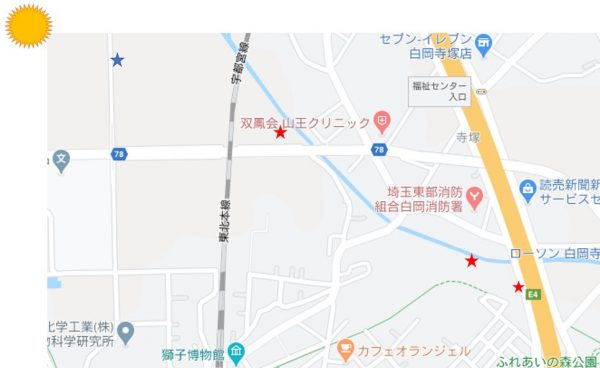 撮影場所地図②