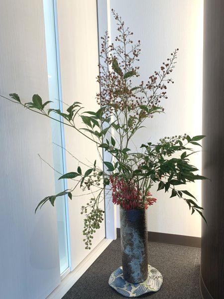 2020・10・26営業所の花②